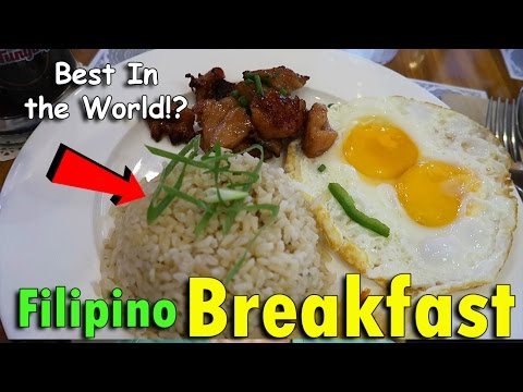Why Filipino Breakfast is the BEST in the World! | May 7th, 2017 | Vlog #106