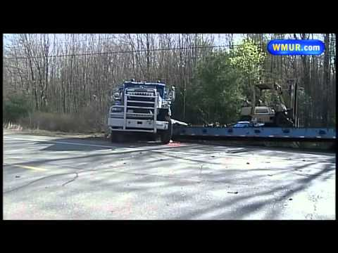 Pickup truck, tractor-trailer collide in Brentwood