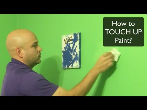 How To Touch Up Paint Youtube