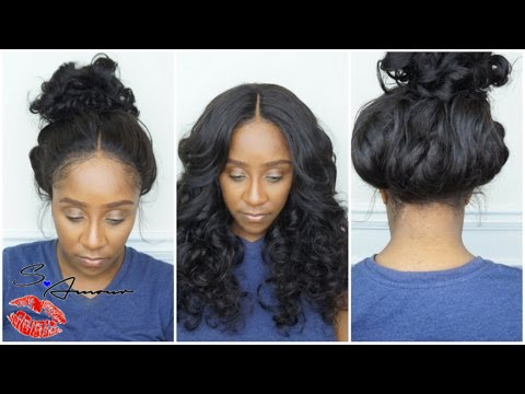 360 LACE FRONTAL WIG TUTORIAL  0a3195f047