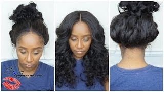 360 LACE FRONTAL WIG TUTORIAL | NO LEAVE OUT | START TO FINISH WIG INSTALL | FT COMINGBUY.COM