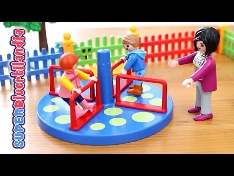 Zona De Juegos Infantil (Parque De Playmobil) - Children's Playground In The Park