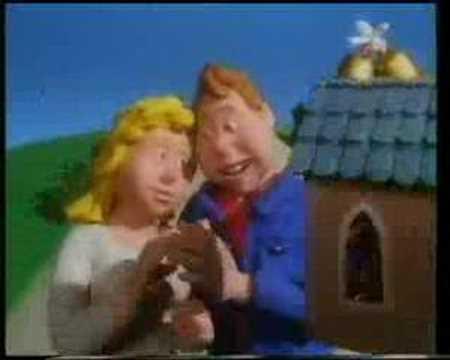 Royal London Insurance 'claymation' advert 1990