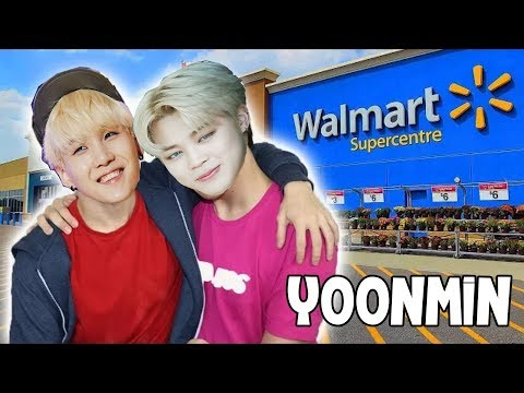 LA JIMIN y LA SUGA van a WALMART