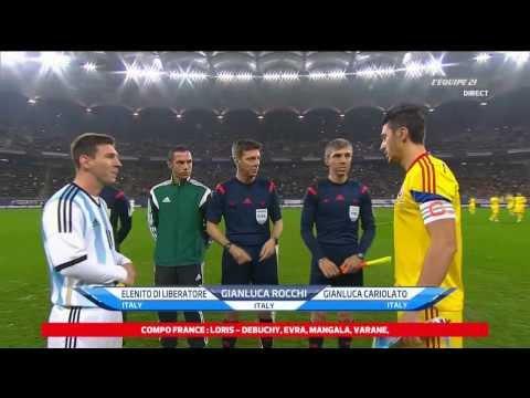 Lionel Messi vs Romania HD (05/03/2014) ● Individual Highlights