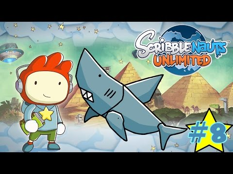 Hungry Fish!! ScribbleNauts Unlimited Ep.8