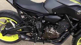 2019 |Ultimate exhaust sound yamaha mt 07 |sc project, arrow, mivv, akrapovic, graves |RIDEMOTO