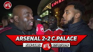 Arsenal 2-2 Crystal Palace | Unai Emery Is Not The Coach To Take Us Forward! (Livz)