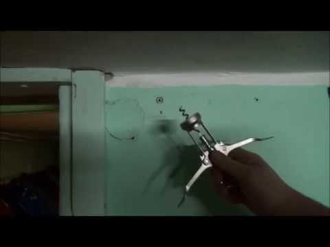 jak wyciągnąć kołek ze ściany diy - how to draw the pin from the wall diy