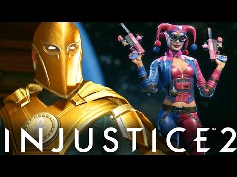 Injustice 2: Extra Dr. Fate Gameplay, Premiere Skins & Gear Information (Injustice Gods Among Us 2)
