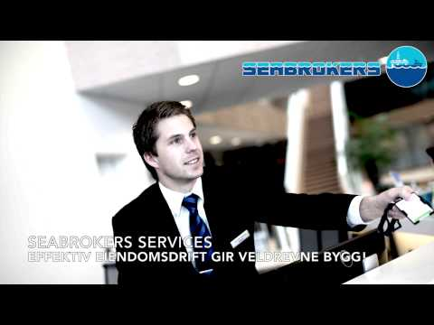 Seabrokers Blink storskjerm - Seabrokers Eiendom AS og Seabrokers Services AS