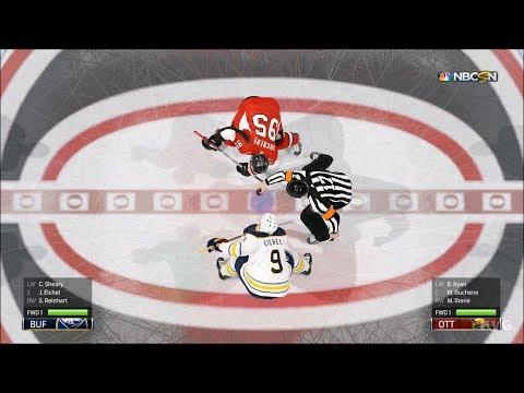 NHL 19 - Ottawa Senators vs Buffalo Sabres - Gameplay (HD) [1080p60FPS]