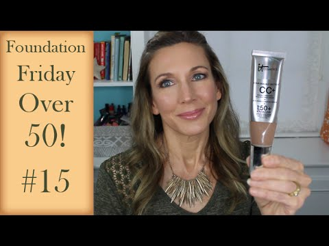 Foundation Friday Over 50 #15 IT Cosmetics CC+ Cream