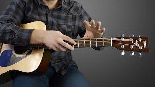 учимся играть на гитаре. Drifting под метроном