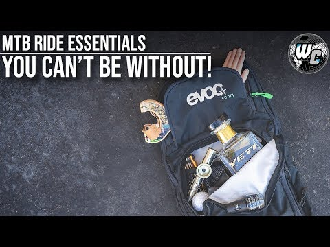 What's in the Bag? (MTB Ride Essentials!)