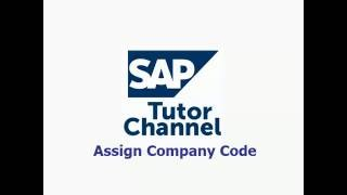 How to assign company code to company in SAP