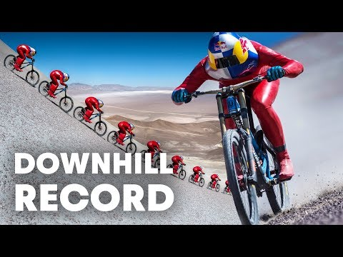 Max Stöckl Sets WORLD RECORD  Fastest MTB Downhill Speed: 167KPH!