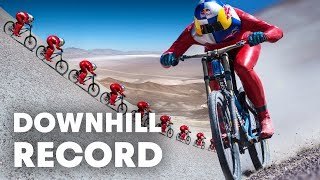 Max Stöckl Sets WORLD RECORD  Fastest MTB Downhill Speed: 167KPH!(Get the lowdown on Max Stöckl's V-Max project as he attempts to break a MTB downhill speed record: http://win.gs/VmaxMTB Markus 'Max' Stöckl is driven by ..., 2017-02-09T18:58:46.000Z)