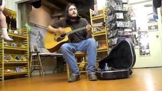Ty Dietz performs Whiskey Bottle Blues