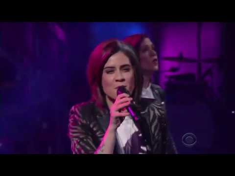 Tegan & Sara Perform 'Stop Desire' on The Late Show with Stephen Colbert