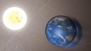 Co się stanie jeżeli planeta uderzy SŁOŃCE? (Universe Sandbox ²)