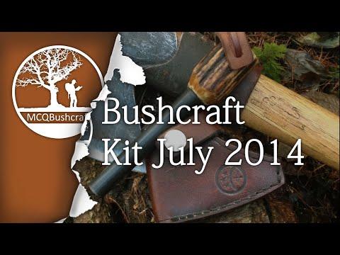 Bushcraft Equipment: Full Kit July 2014