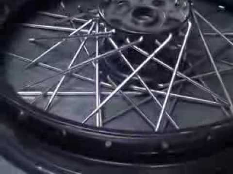 "#111 1932-50 Harley 16"" servi-car hub spoke wheel lacing & truing 45ci flathead WL G"