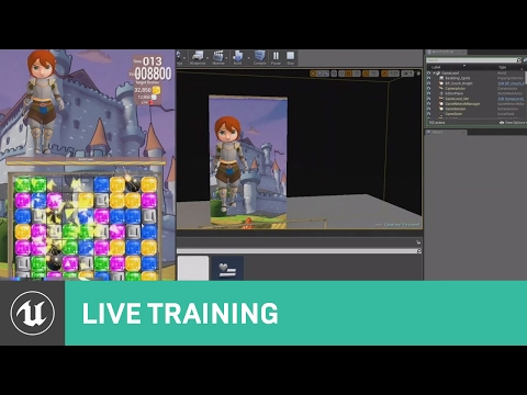Creating a Match 3 Game   01   Live Training   Unreal Engine