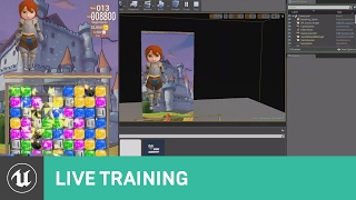 Creating a Match 3 Game | 01 | Live Training | Unreal Engine