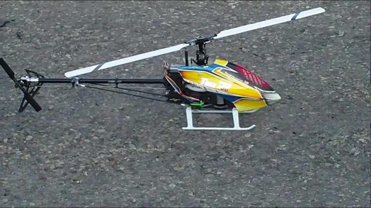 Align trex 700e v2 3gx test flight 2 youtube.