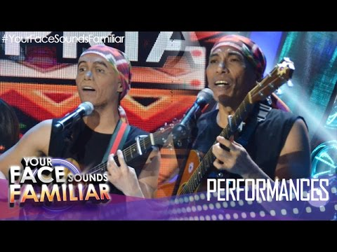 """Your Face Sounds Familiar: Kean Cipriano as Joey Ayala – """"Karaniwang Tao"""""""