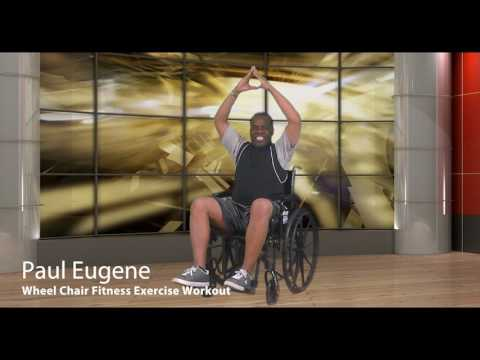 Wheel Chair Fitness Exercise Fat Burner Workout! | Sit and Get Fit!
