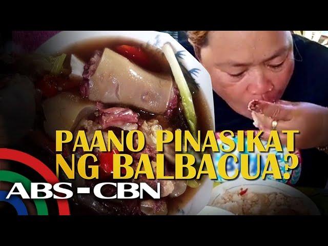 Paano siya sumikat dahil sa Balbacua? | Rated K