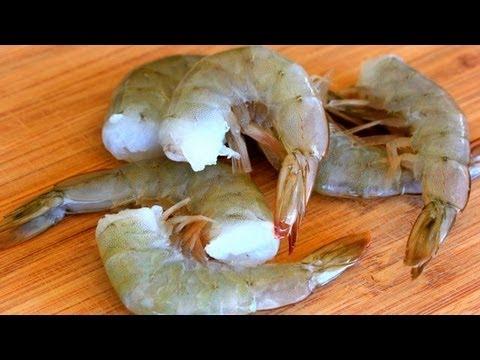 How To Peel And Devein Shrimp