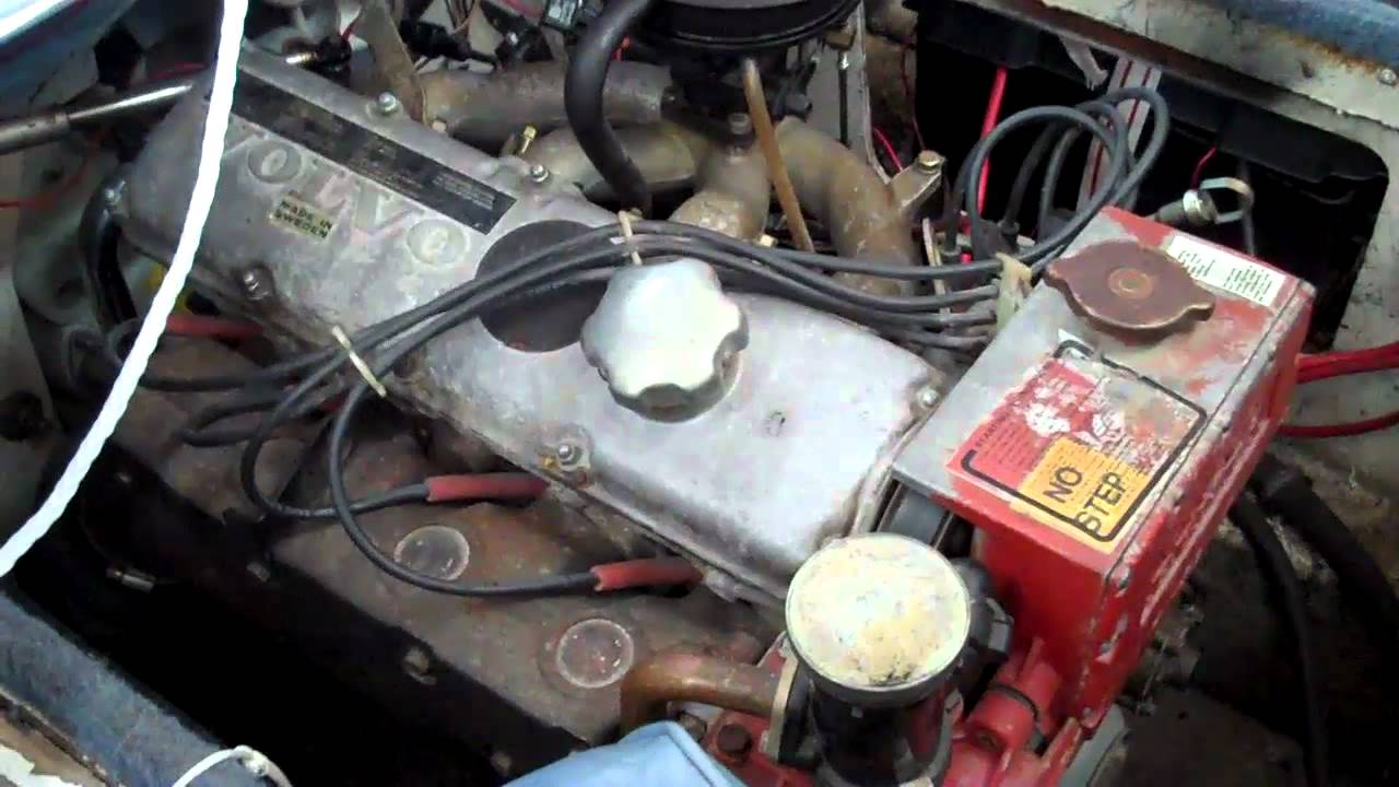 maxresdefault 1986 bayliner 4 cylinder boat motor for sale volvo penta youtube