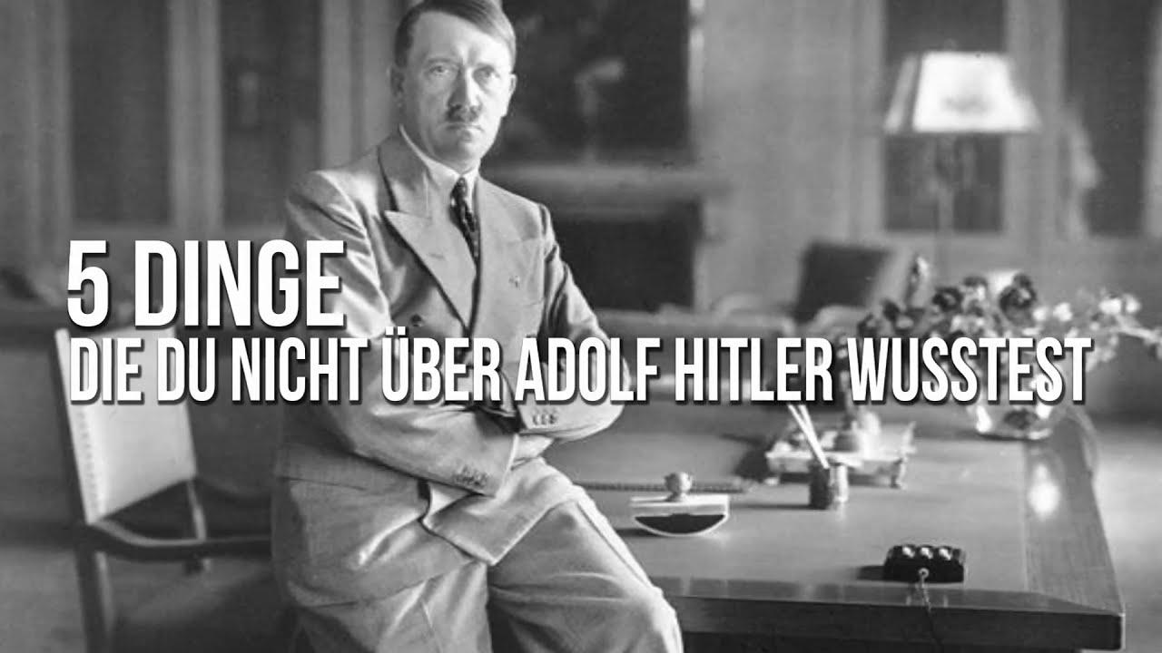 5 Dinge, Die Du Nicht Ber Adolf Hitler Wusstest - Youtube-8336