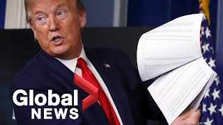 Coronavirus outbreak: Trump says COVID-19 death rates are falling as U.S. looks to reopen | FULL