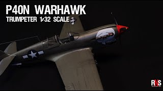 P-40N Warhawk - Trumpeter 1/32 Scale