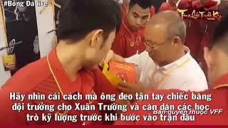 Hãy xem để khóc : người hùng của U23 Việt Nam soái ca Park Hang Seo