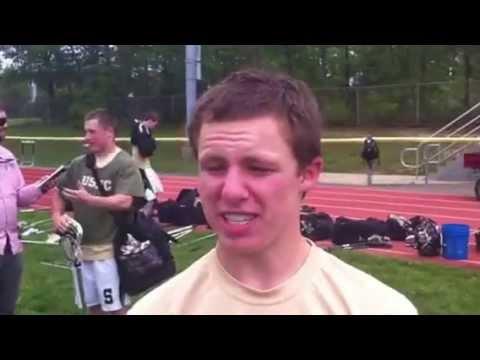 Southern Regional lacrosse player Brendan Mullen
