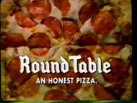 1986 Roundtable Pizza Honest Tv Commercial