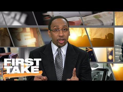 Stephen A. Smith reacts to Cleveland Cavaliers
