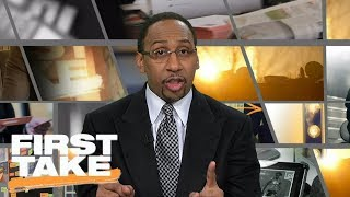 Stephen A. Smith reacts to Cleveland Cavaliers' slow start | First Take | ESPN
