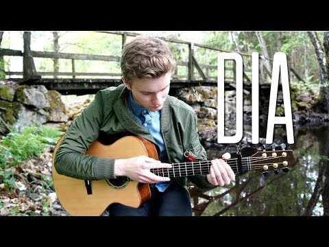 Anji - Dia - Fingerstyle Guitar Cover by Mattias Krantz