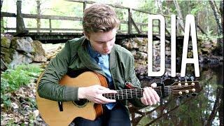 Anji - Dia - Fingerstyle Guitar Cover By Mattias Krantz