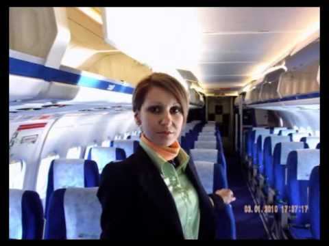 Bulgarian Air Charter - Busted Air Hostess