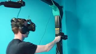 Установка платформы виртуальной реальности Kat VR у клиента