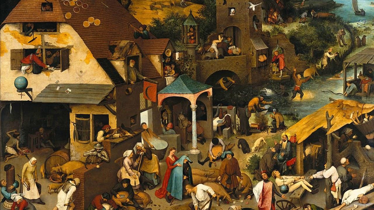 Vídeo sensacional: Fabulosa pintura de Pieter Bruegel faz ...