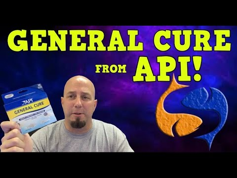 General Cure From API Product Spotlight! Parasite Treatment KGTropicals!!