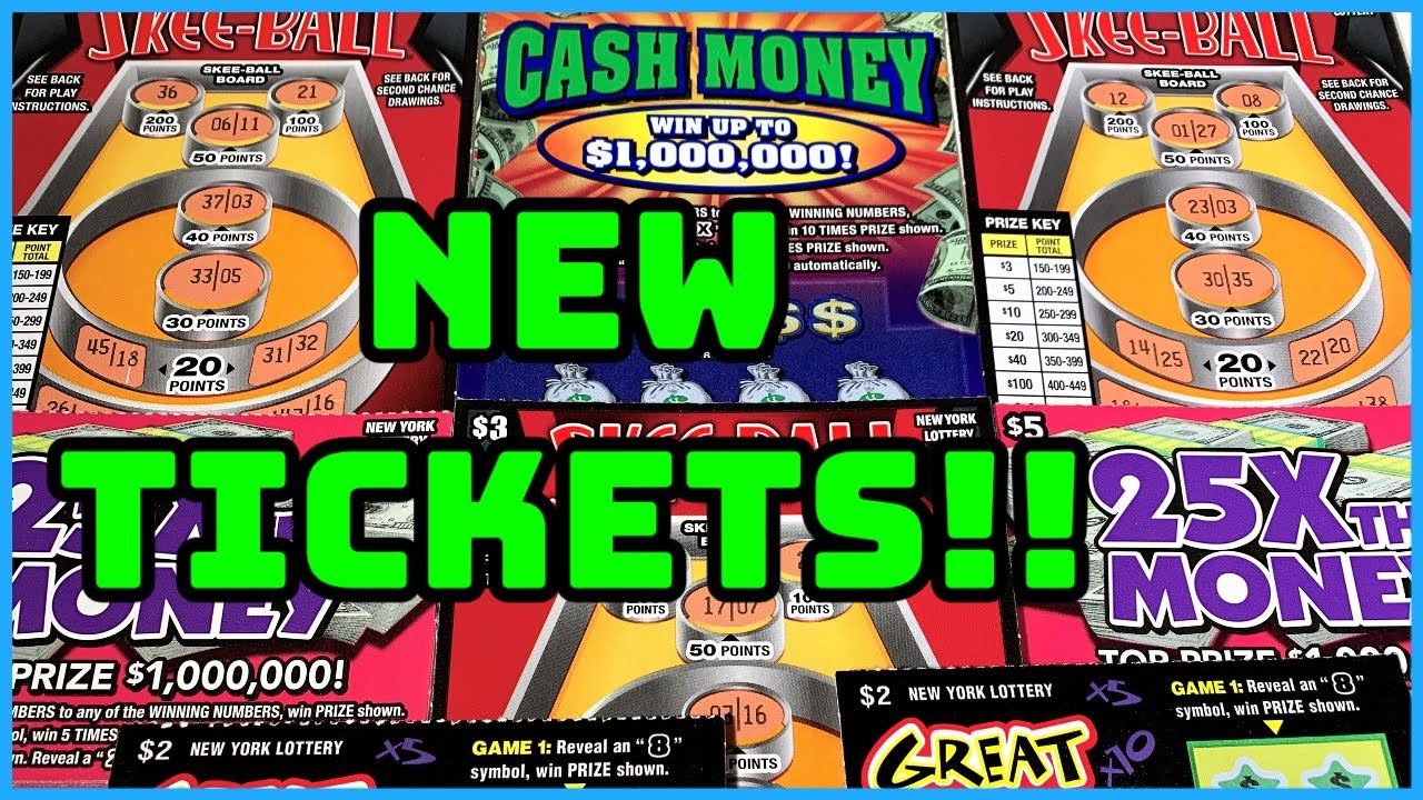 New Ticket Alert 💰 | New York Lottery Scratch Off Tickets ...